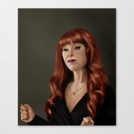 Rowena (Supernatural) Canvas Print