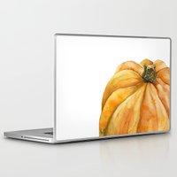 pumpkin Laptop & iPad Skins featuring Pumpkin by Cindy Lou Bailey