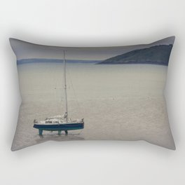 Waiting for the flood Rectangular Pillow