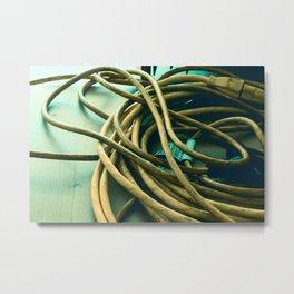 Cord Metal Print