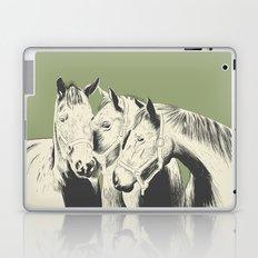 3 Horses Laptop & iPad Skin