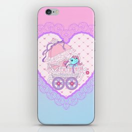 g1 my little pony baby buggy iPhone Skin