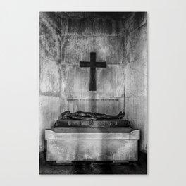 In Manus Tuas Canvas Print