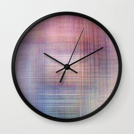 Veiled Wall Clock
