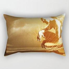 A Mighty Messenger Rectangular Pillow