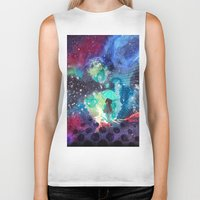 whisky Biker Tanks featuring SPACE by sametsevincer