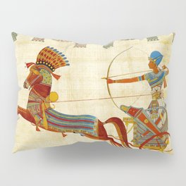 egyptian tutunkhamun pharaoh design Pillow Sham