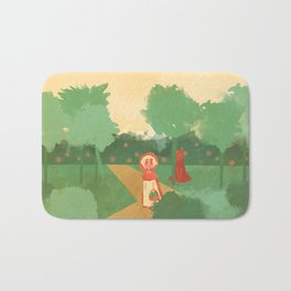 Little Red (Ver 2) Bath Mat