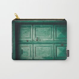 Green old door Carry-All Pouch