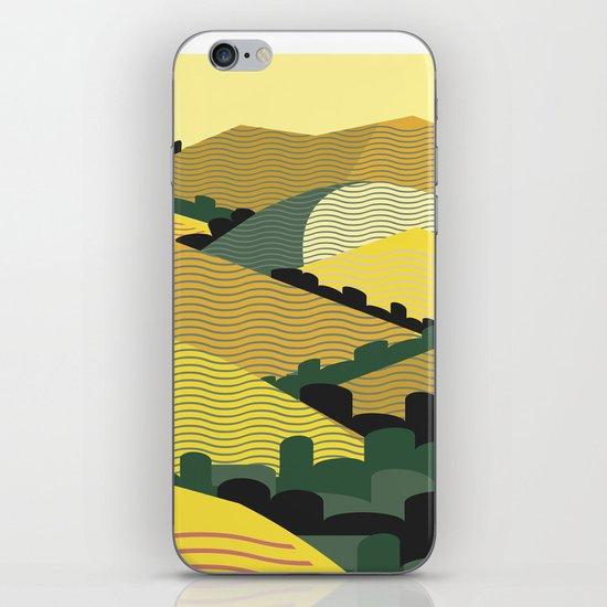 California Hills iPhone & iPod Skin