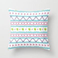 Summer Pattern 13 Throw Pillow