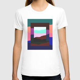 Terran - Abstract Landscape Collage: 02 T-shirt