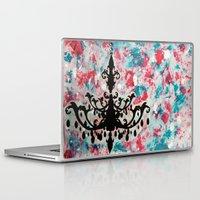 chandelier Laptop & iPad Skins featuring Chandelier by Tina Floersch