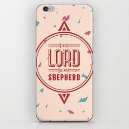 Psalm 23:1 iPhone Skin