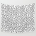 Brush Dot Pattern White by dngrmouse