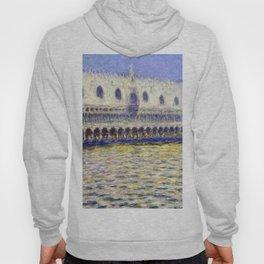 1908-Claude Monet-The Doges Palace (Le Palais ducal)-81 x 99 Hoody