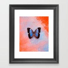 Cosmic Flutter Framed Art Print