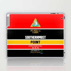 Southern Most Point, Key West, Florida/サザン・モスト・ポイント Laptop & iPad Skin