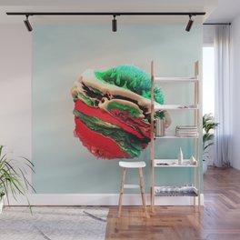 ACRYLIC BALL III // 3D ABSTRACT Wall Mural