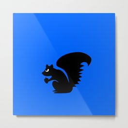 Angry Animals: Squirrel Metal Print