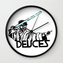 Deuces Wall Clock