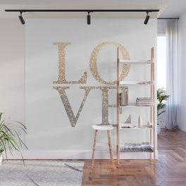 GOLD LOVE Wall Mural