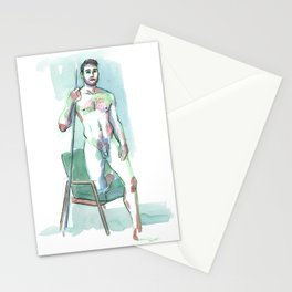 ROBBY, Nude Male by Frank-Joseph Stationery Cards