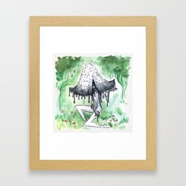 Empire of Mushrooms: Coprinopsis Atramentaria Framed Art Print