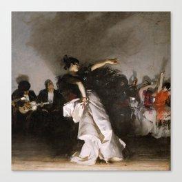 El Jaleo (Spanish Dancer) - John Singer Sargent Canvas Print