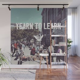 Yearn to Learn Wall Mural