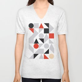 Geometric 7 Unisex V-Neck