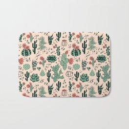 Succulent Desert Bath Mat