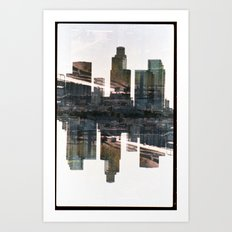 Landscapes c3 (35mm Double Exposure) Art Print