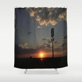 Sunrise/Sunset Shower Curtain