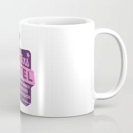 Seeing Stars ... Motel ... (Purple/Pink Sign) Coffee Mug