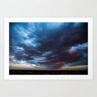 Velvet Sky Art Print