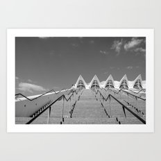 City of the Arts and Science, Valencia, Spain.  Art Print