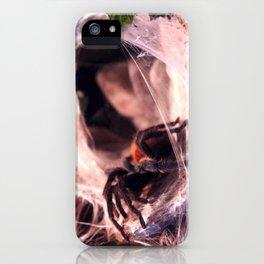 Lady Tarantula iPhone Case