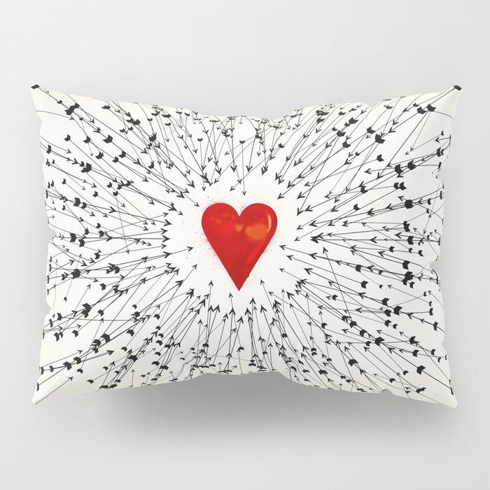 Heart&Arrows Pillow Sham