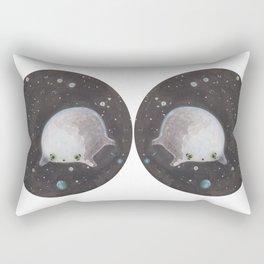 Blob floating in space Rectangular Pillow