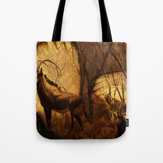 Diorama :: Antelope Tote Bag