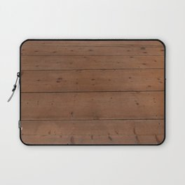 Pattern of honey-colored light wooden boards Laptop Sleeve