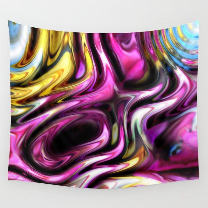 Shimmering Summer Fantasy Wall Tapestry