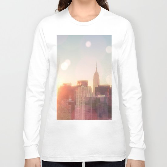 New York City Skyline Love Long Sleeve T-shirt