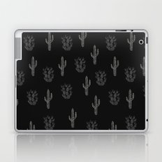 Cactus Pattern Black Laptop & iPad Skin