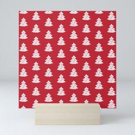 Christmas Tree pattern Mini Art Print