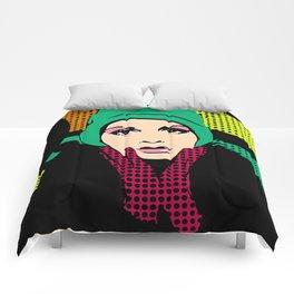 """""""Twiggy Pop Color"""" Comforters"""