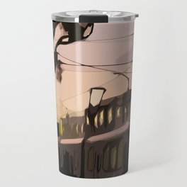 N Line, San Francisco  Travel Mug