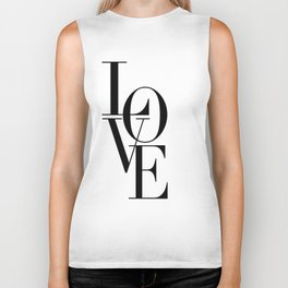 LOVE IS SWEET, Love Sign,Love Art,Wedding Decor,Anniversary Quote,Love Symbol,Love you more Biker Tank