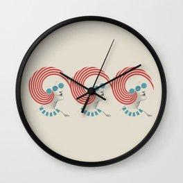 Dedicated Follower of Fashion Wall Clock